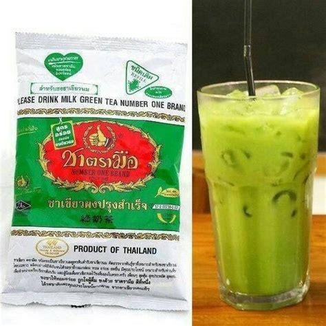 Thai Tea 400gr Khusus Gojek 1 jual teh hijau thailand thai green tea di