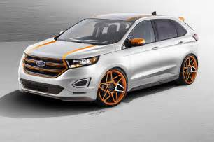 Ford Wdge Three Custom Ford Edge Concepts Bound For Sema