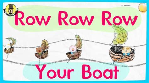 row your boat video row row row your boat video nursery rhymes for kids
