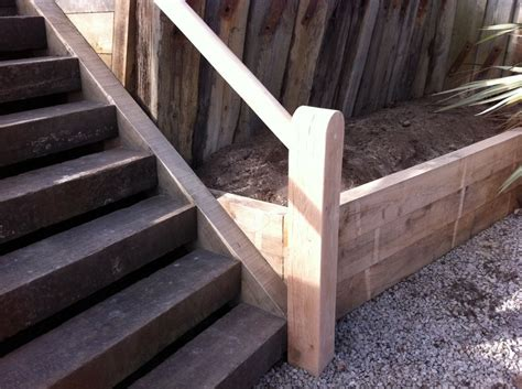 Sleepers Cut To Size by Steps From New And Used Railway Sleepers