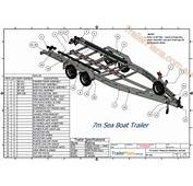 Boat Trailer Plans  Designs And Drawings
