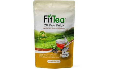 28 Detox Tea Fit Recipe by Fit Tea 28 Day Detox Groupon