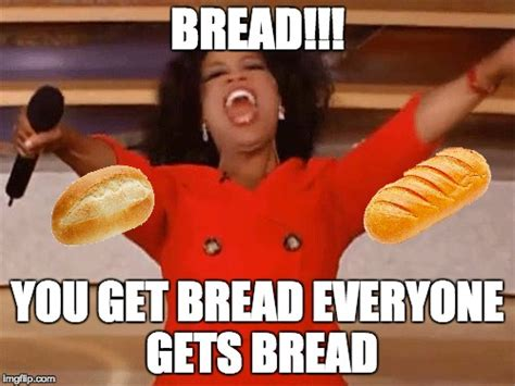 Bread Meme - cele bitchy oprah s tweet on her weight loss made her