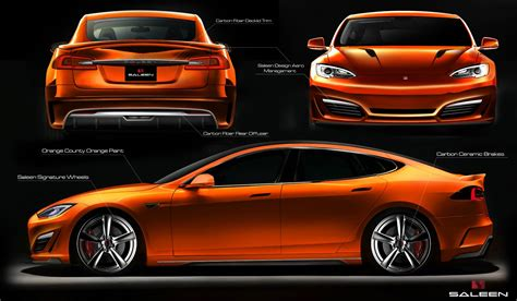 Saleen Tesla Saleen Tesla Model S Named Foursixteen Debut Set For
