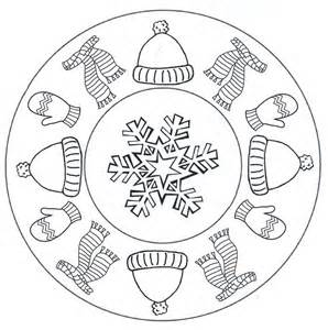 mandala coloring pages winter season worksheet crafts and worksheets for preschool
