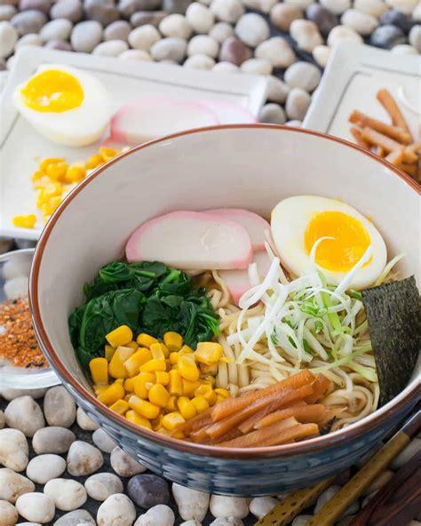 minute miso ramen recipe steamy kitchen recipes
