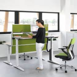Height Of Office Desk Steelcase Ology Height Adjustable Desks Office Desks