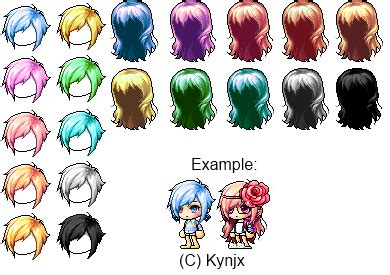 maplestory vip hairstyle maplestory mixed hair giveaway by kynjx on deviantart