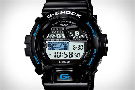 casio bluetooth casio g shock bluetooth uncrate