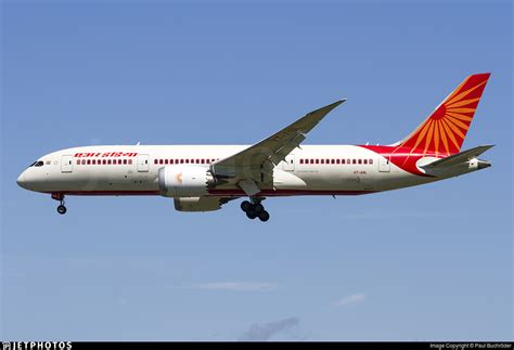 air india ai115 vt anl b787 dreamliner vt anl boeing 787 8 dreamliner air india paul