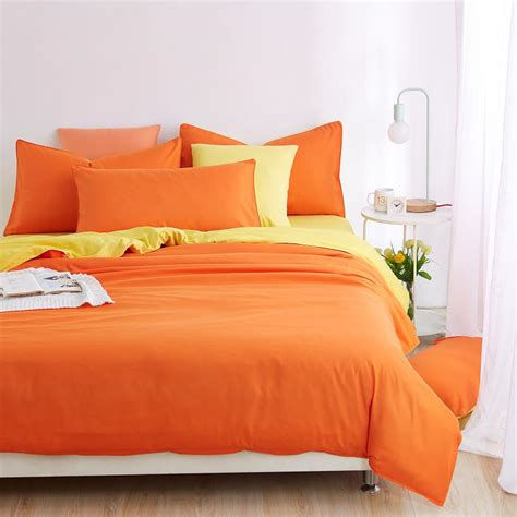 orange full size comforter orange bedspread reviews online shopping orange