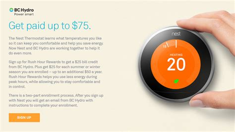 BC Hydro and Nest Thermostat $75 Rebate   RedFlagDeals.com Forums