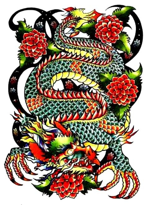 tattoo new school flash new school japanese dragon new school tattoos