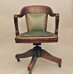 Antique Wooden Desk Chair » Home Design