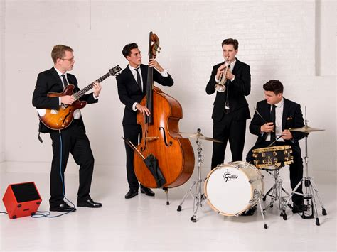 swing and jazz snap entertainment jazz swing quartet