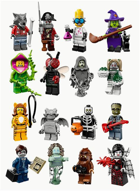 figures on ebay lego monsters minifigures series 14 71010 choose your