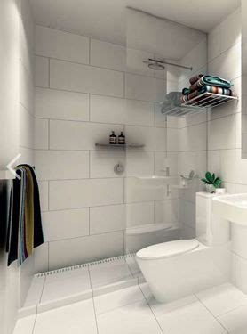 Large White Wall Tiles Bathroom by Large White Tiles Grey Grout Bathrooms