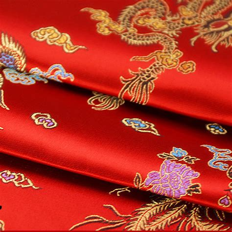 Segiempat Satin Emboss Jacquard Silk 10 brocade jacquard cloth costume wedding cos clothing cheongsam damask satin fabric