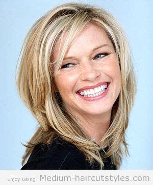 medium length layered hair step by step layered step by step hairstyles for medium length hair