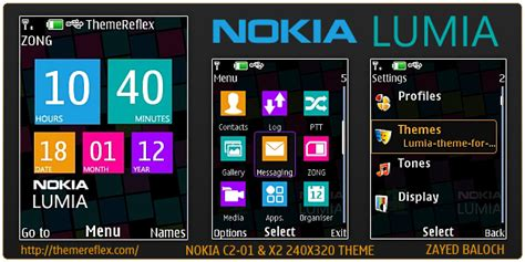 nokia c3 00 lumia themes nokia lumia theme for x2 00 c2 01 240 215 320 themereflex