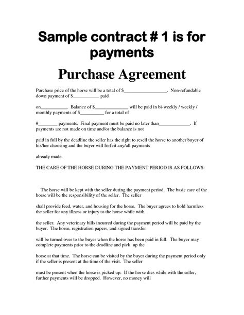 Legal Payment Plan Agreement Complete Bill Sale For Car With Designs Ii L86298 Edujunction Bill Of Sale With Payment Plan Template