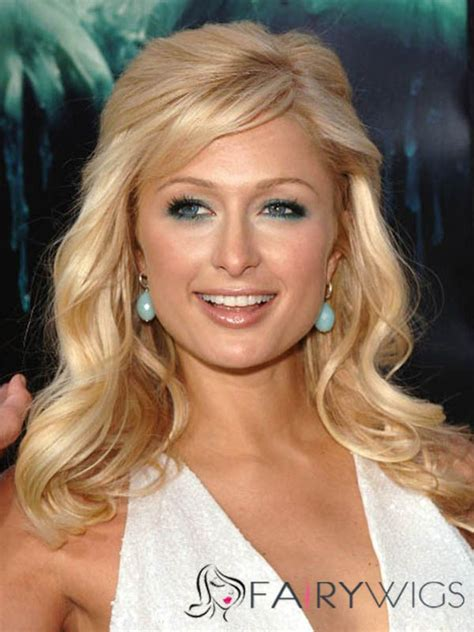 cheap haircuts in paris mature paris hilton hairstyle medium wavy capless remy