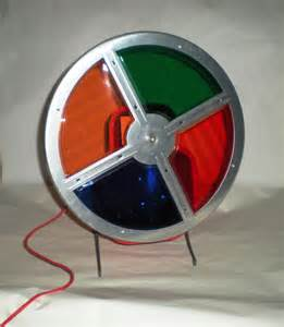 aluminum tree color wheel color wheel for aluminum tree early 1960 s
