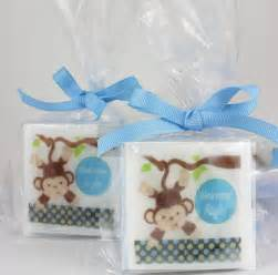 baby shower favors for boy monkey baby shower soap favors baby boy shower ideas