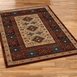 Southwestern Bathroom Rugs Bennington Southwest Area Rugs