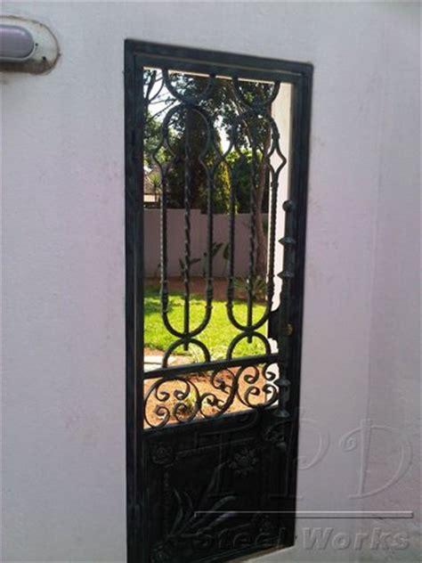 Security Front Door Gates Door Security Iron Front Door Security Gates