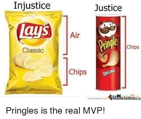 Lays Chips Meme - injustice lays classic justice air chips chips orginal