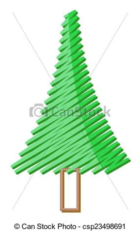 scribbled tree symbol stock vector art more images of eps vectors of scribble christmas tree design abstract