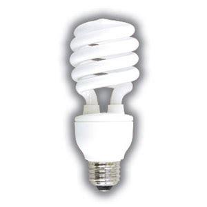 compact fluorescent light bulb 24 watt mini spiral dimmable cfl 27k supra compact