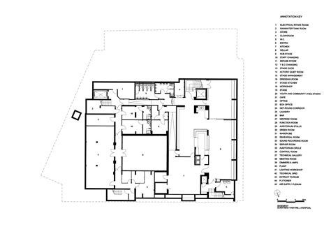 bike shop floor plan galer 237 a de everyman theatre haworth tompkins 24