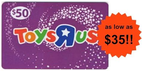 Toys R Us Gift Cards At Walmart - 50 toys r us gift card as low as 35 become a coupon queen