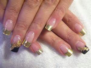 nail designs gold nail art designs