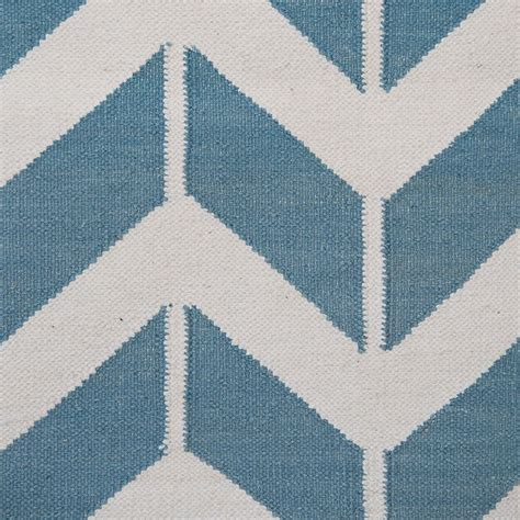 blue and white chevron rug chevron rug in blue white modern monochrome zigzag cotton rug