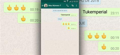 Tutorial Dedo Do Meio Whatsapp | como ativar emoji do dedo do meio no whatsapp