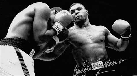 Boxer Mike Avenger Biru hf61 tyson punch ring boxing sports papers co