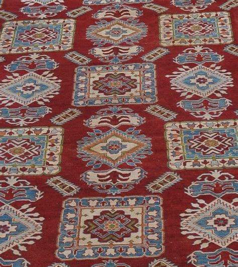 10 X 16 Area Rug by 10x16 Wool Kazak Rugs New Antique Replica Handmade 10 X
