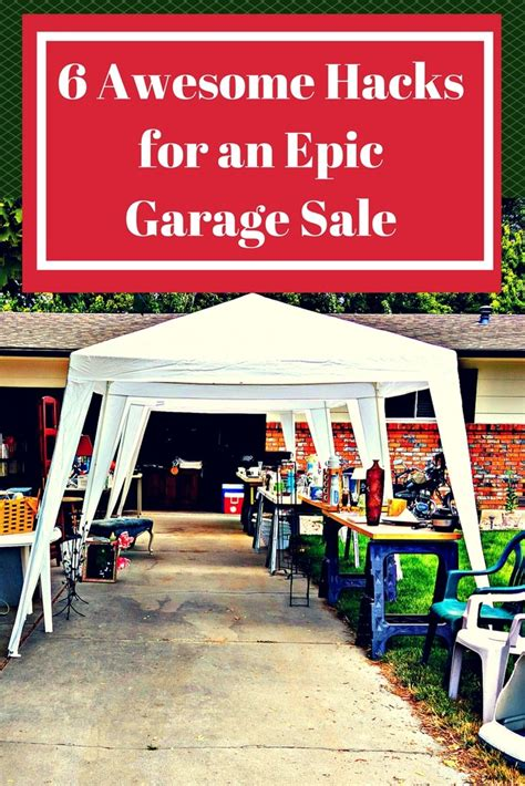 What Is A Garage Sale by 6 Awesome Hacks For An Epic Garage Sale Wallet Whisperer