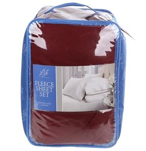 life comfort fleece sheet set life comfort fleece sheet set queen size 4pc set 100