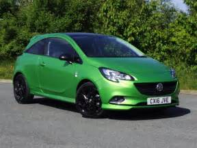 Opel Corsa Limited Edition 2016 Vauxhall Corsa Limited Edition Ecoflex S S Petrol