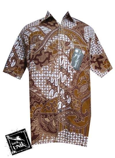 Kemeja Batik Parang Kombinasi K8088 jual baju anak batik pria