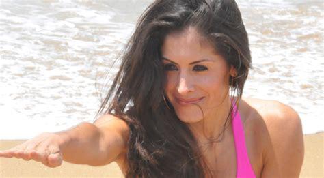 bikini beach babe michelle