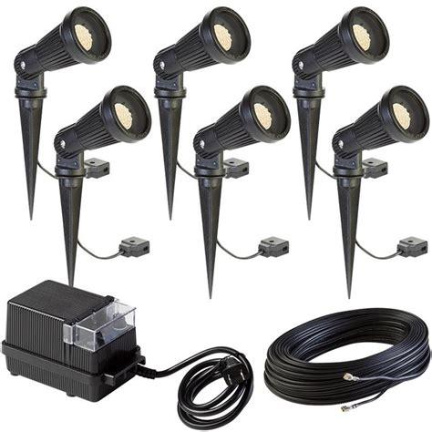 low voltage led spot light kit led 6 spotlight landscape kit led 6kit 002 pond kits