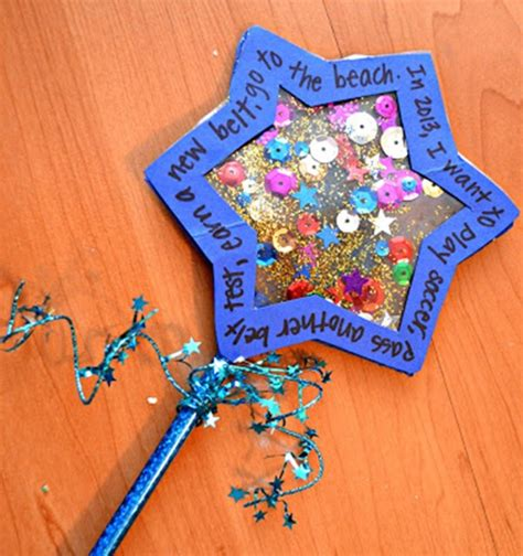 new year activity 25 new years crafts for craft wand and holidays