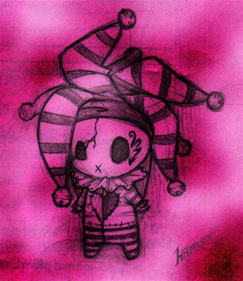 cute voodoo doll drawings emo dolls with cute quotes cute emo doll graphics code