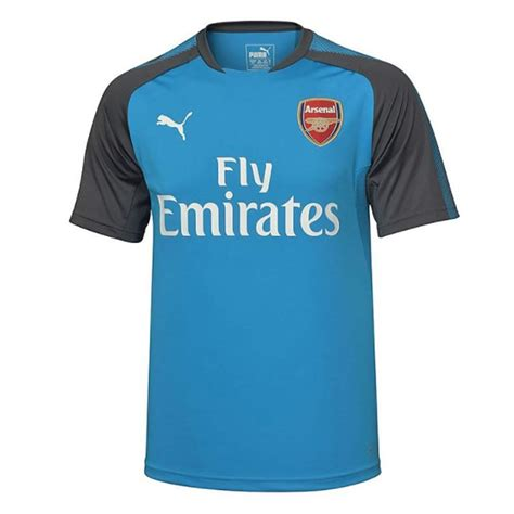 arsenal jersey 2018 arsenal 2017 2018 training jersey blue kids 75171102b