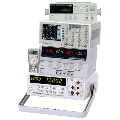 bench test equipment gw instek gwkit1 bench test equipment bundle rapid online